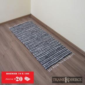 Tkaný koberec sivý - akcia0001